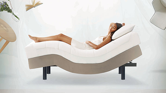 Zero G Luxury Electric Bed Base Tempur New Zealand